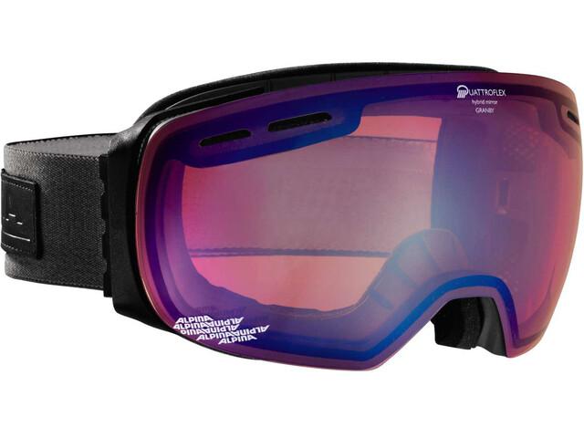 Alpina Granby Quattroflex Mirror S2 goggles blauw/zwart